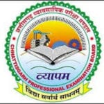 CG Vyapam Admit Card 2019 Assist Teacher English E Cadre Download